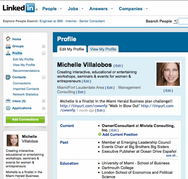 cara memakai linkedin, pengertian linkedin dan cara memakainya, jejaring sosial selain facebook dan twitter