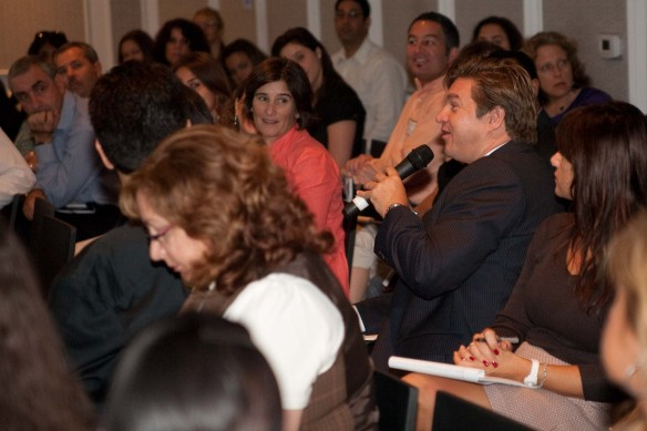 "Audience Photo from Michelle Villalobos Workshop ""Networking"" Miami Beach Chamber"