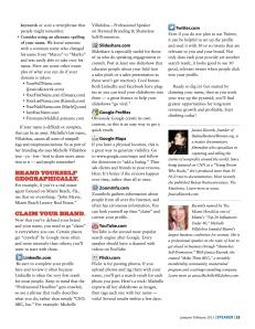 Speaker Magazine - Page 3